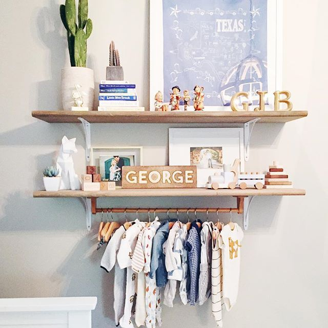 Adorable Nursery Shelves 3 With