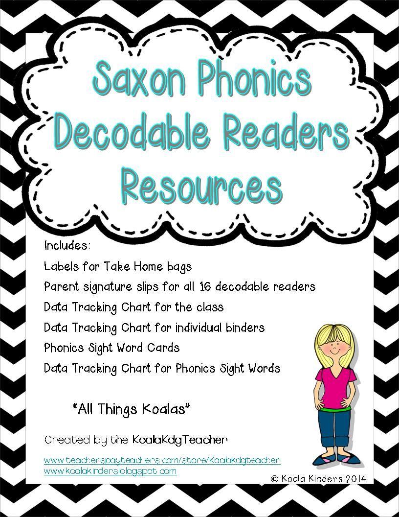 """All Things Koala"" addition If you use Saxon Phonics and"