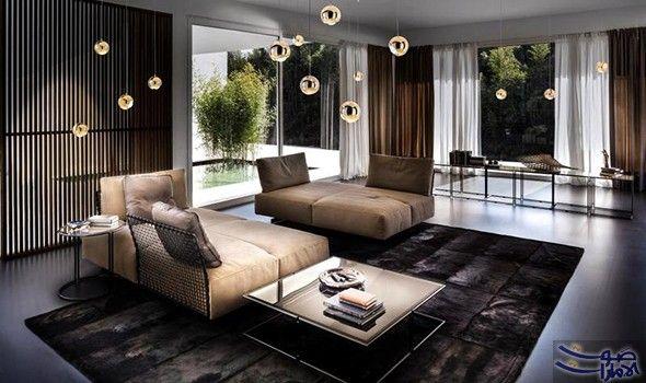 الإضاءة في الديكور المودرن بين الإبهار وحسن التوظيف الإضاءة عنصر رئيس في الديكور الداخلي ومؤث ر فيه وفي الشقق الـ Spider Lamp Italia Design Interior Design