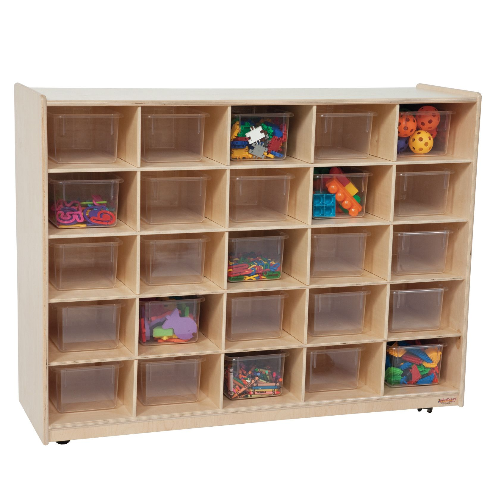 Tray Storage Unit 25 partment Cubby ZAPATERA