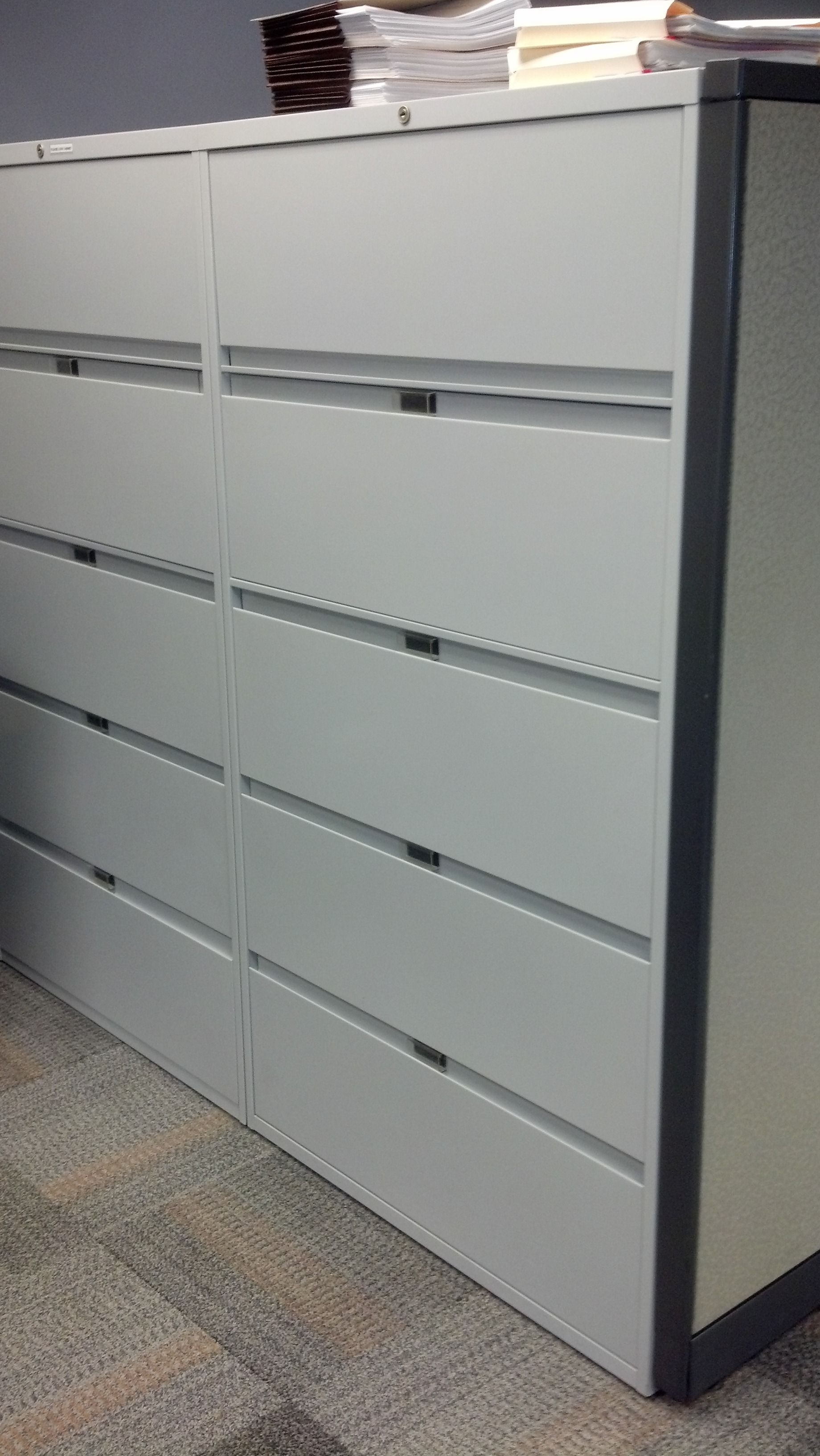 Steelcase 5 Drawer Vertical File Cabinet