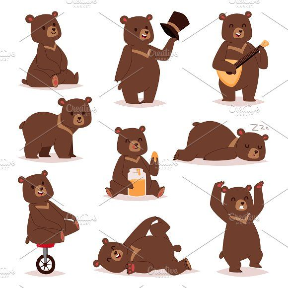 Cartoon Bear With A Barrel Of Honey. Vector Illustration On White  Background. Stock Vector - Illustration of agriculture, full: 155703066
