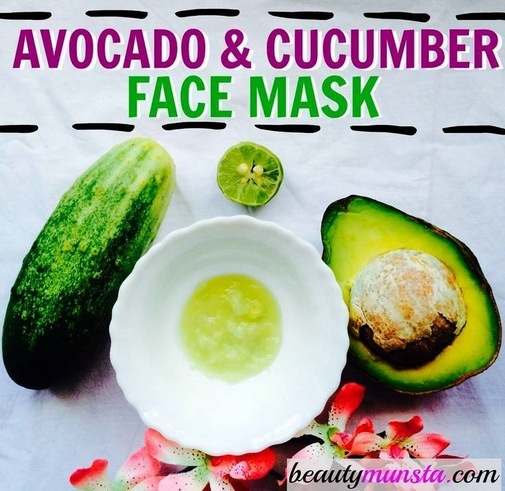 Cooling Avocado Cucumber Face Mask DIY Cooling Avocado Cucumber Face Mask  Stay hydrated with this delicious Lemon Cucumber Infused Water How to make an easy DIY face mas...