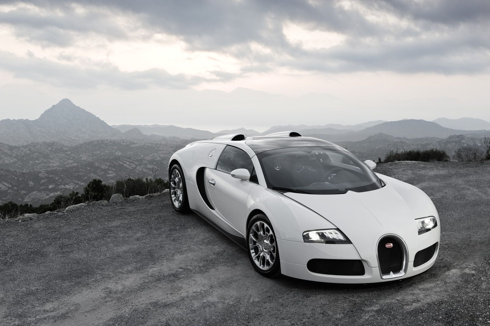 Bugatti Veyron...not for its speed or design..because this car is a marvelous piece of mechanical engineering!!!