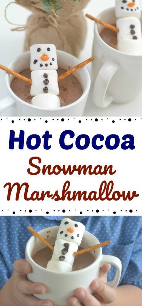 Stephen's Hot Cocoa + Snowman Marshmallows #hotchocolatebar