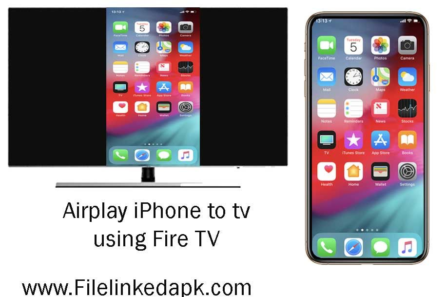 Mirror Your Iphone Screen To Fire Tv Iphone Screen Fire Tv Fire Tv Stick