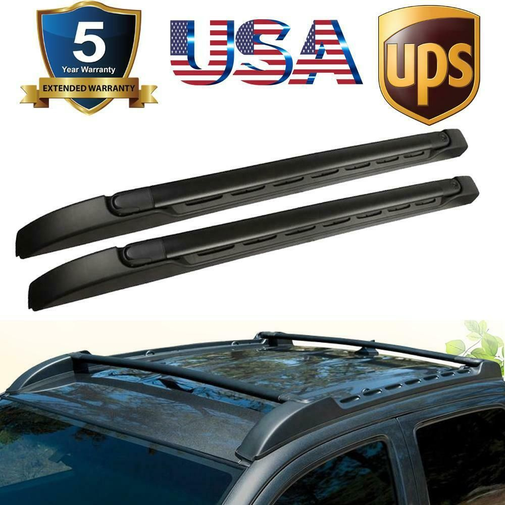 For Tacoma 2005 2019 Double Cab Factory Style Roof Rack Cross Bar Basket Carrier Roof Rack Tacoma 2005 Truck Parts