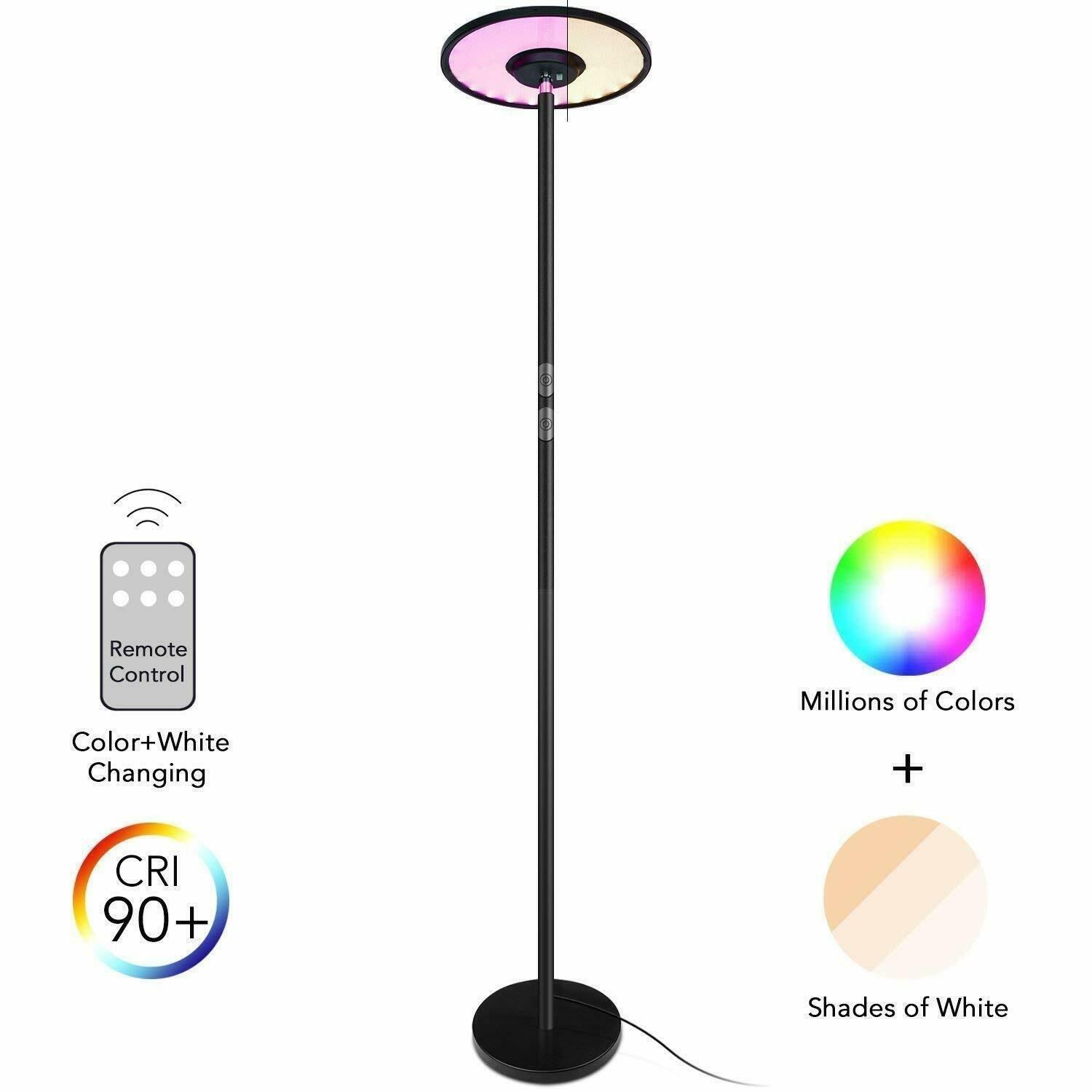 Decorative Floor Lamps With Remote