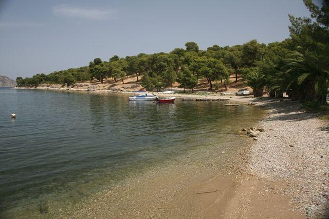 Bitsi beach near Ermioni village Argolis Peloponnese