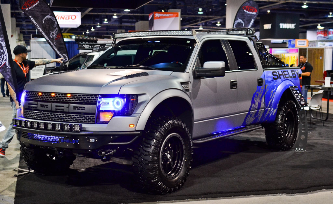 A d d shelby raptor at sema 2013