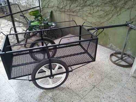 08173df5d trailer batan carro para moto o bicicleta   Vagones invernadero ...