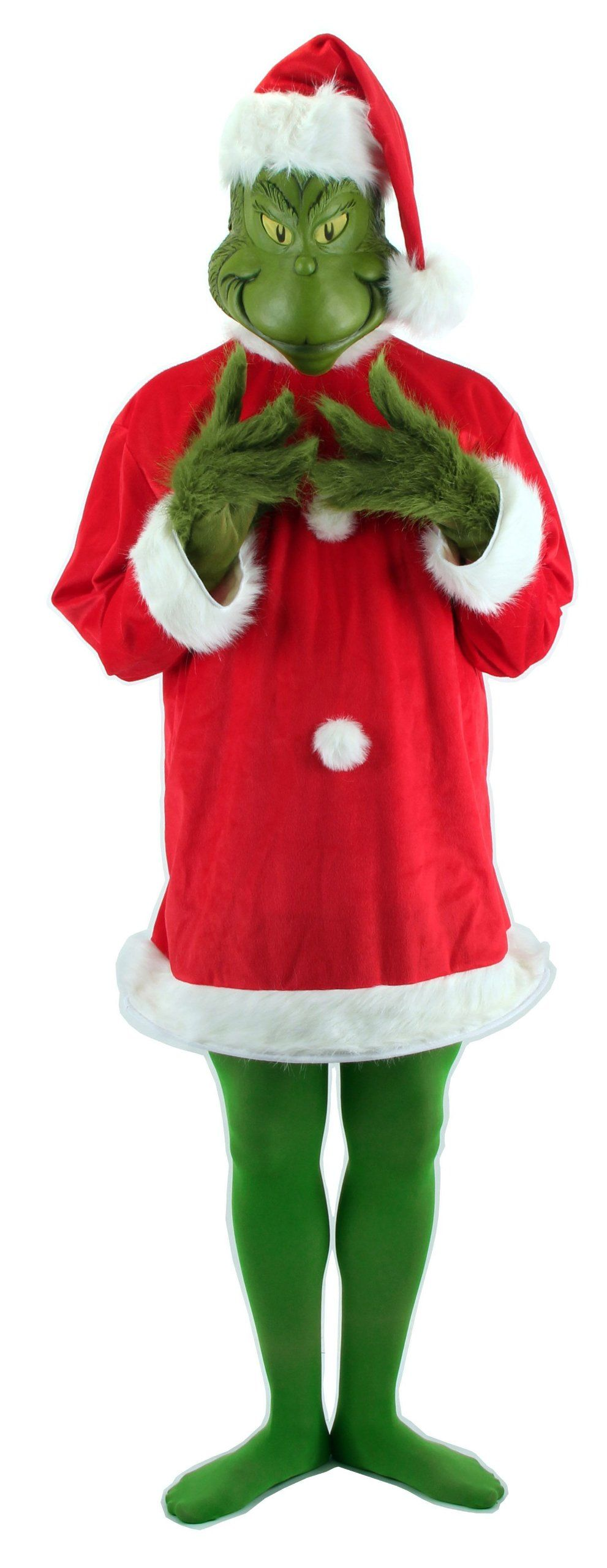Amazon.com elope Dr. Seuss Santa Grinch Costume with Mask Large/X  sc 1 th 225 : amazon christmas costumes  - Germanpascual.Com