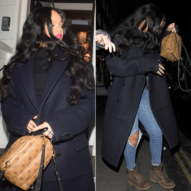 09337120ed6 Rihanna Heads to Work in Vetements x Canada Goose Parka - Haus of Rihanna