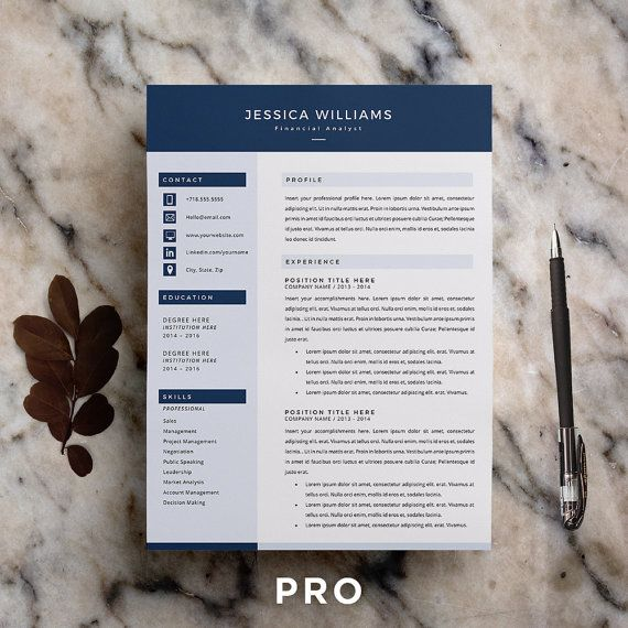 Resume Template Cv Template Cover Letter For Ms By Proresume