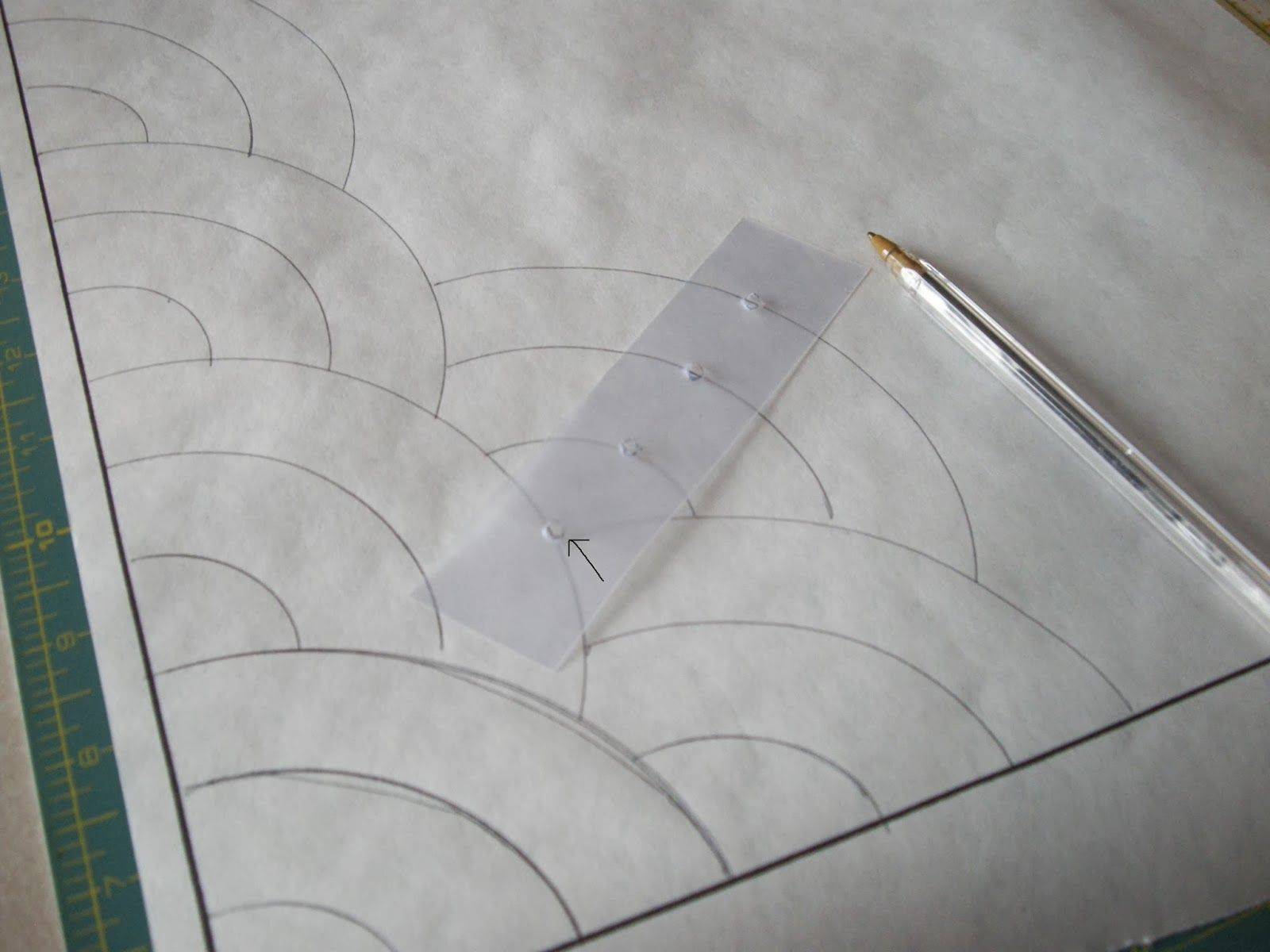Quilty Folk: Part #1: Learning How To Make The Baptist Fan Pattern For