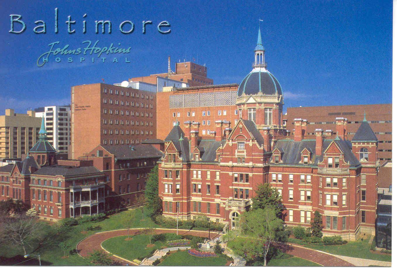 John Hopkins Hospital Maryland Pinterest Johns