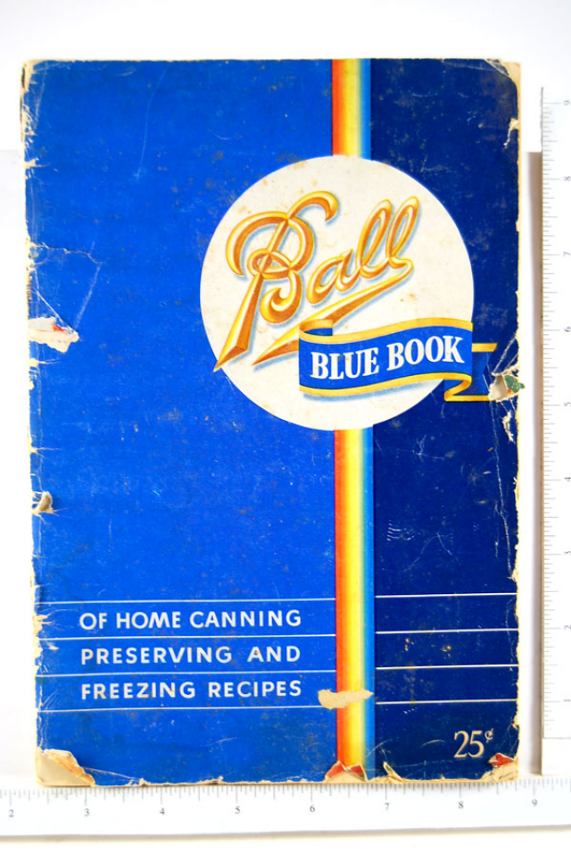 the ball blue book canning recipes nr vintage 1949 the ball blue ...