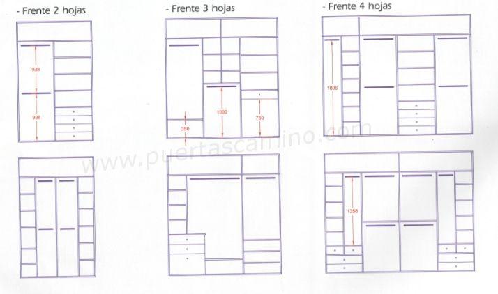 Armario Superior Cozinha Profundidade ~ Variedad de distribuciones a medida para interiores de armario Mis próximos proyectos