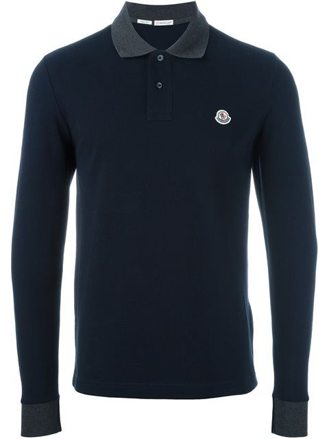 f33b70160 MONCLER Long Sleeve Polo Shirt.  moncler  cloth  shirt