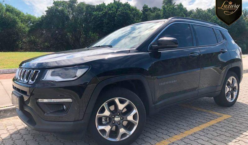 Jeep Compass Flex Longitude Preta Com Pack Premium