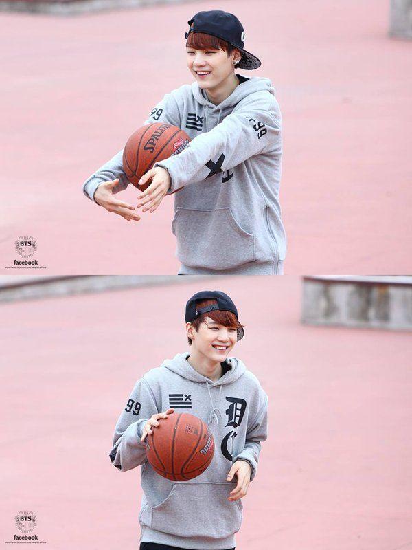 Tnx Yoongi, bcos of the word 'shit' na-shoot ko yung bola sa ring!! me  playing basketball: shiiiiit! *sabay hagis ng bola* Yeeehet nag-shoot.