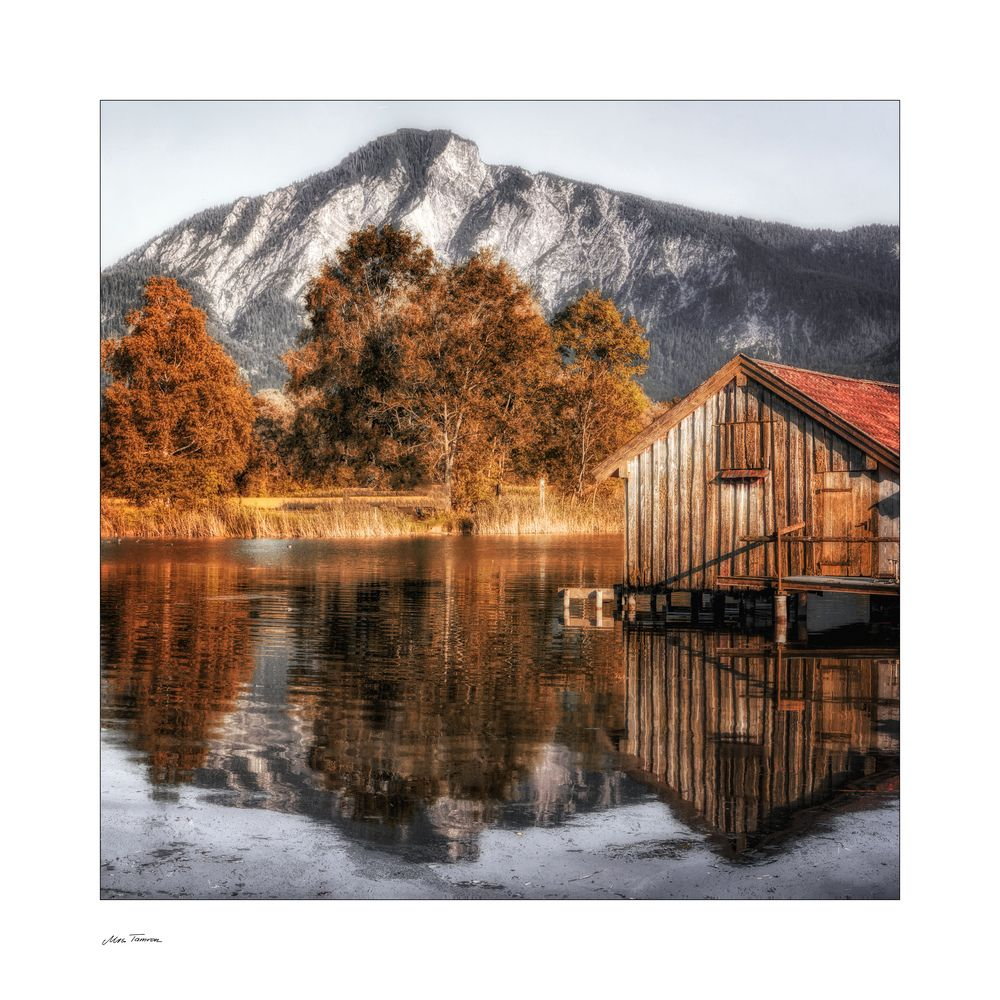 Herbst in den Bergen ... von Mrs. Tamron