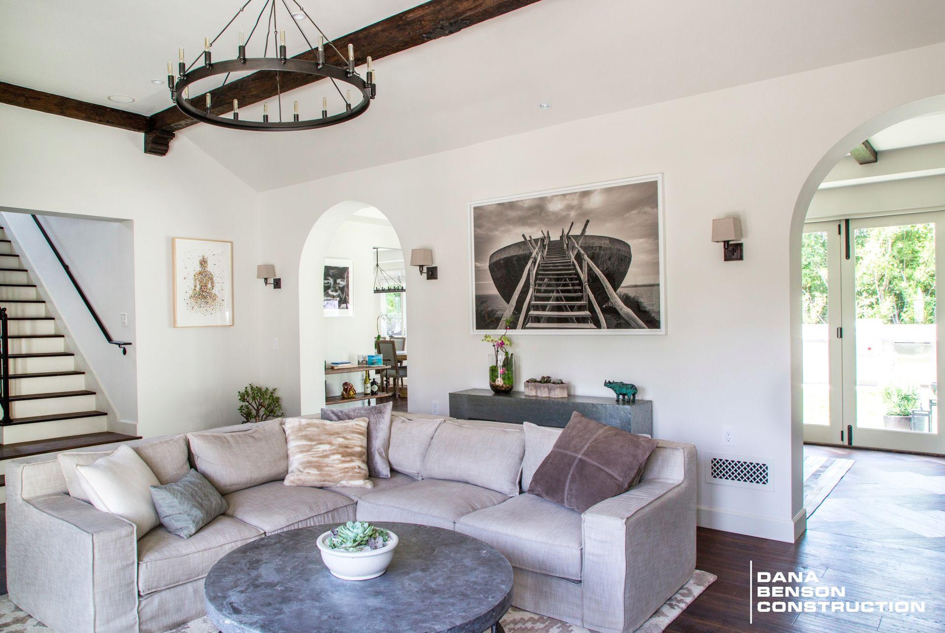 Lovely Spanish Transitional Style Living Room   Interior Design ...