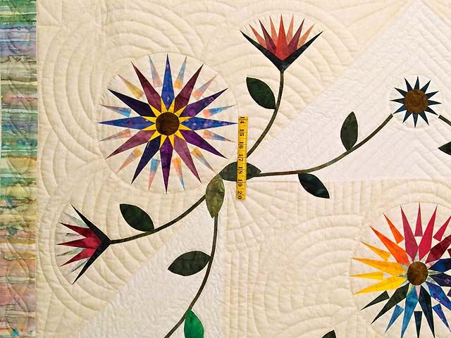 Image result for quilted applique quilts