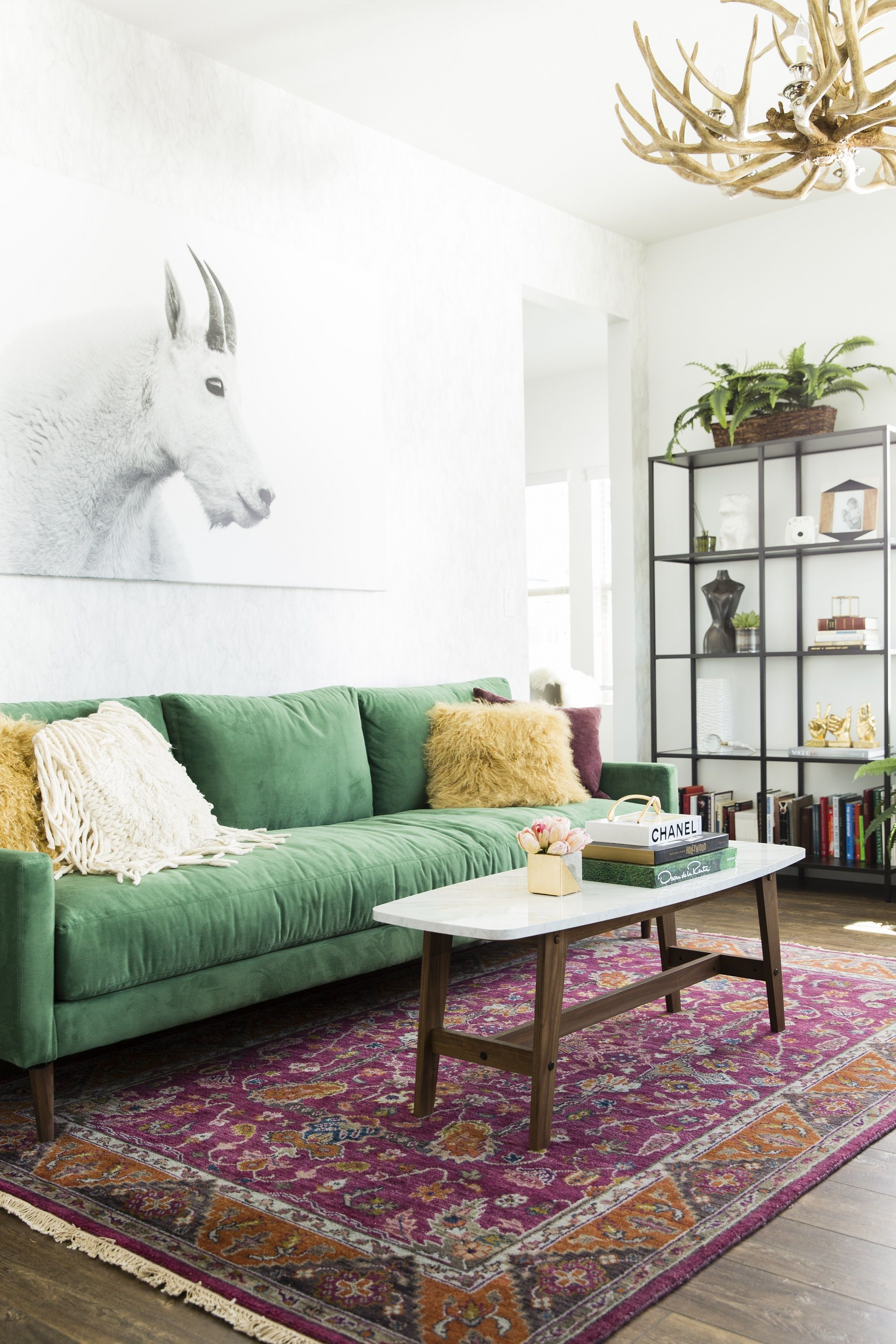 Joss & Main x Cara Loren. Shop her stylish home office! | Living ...