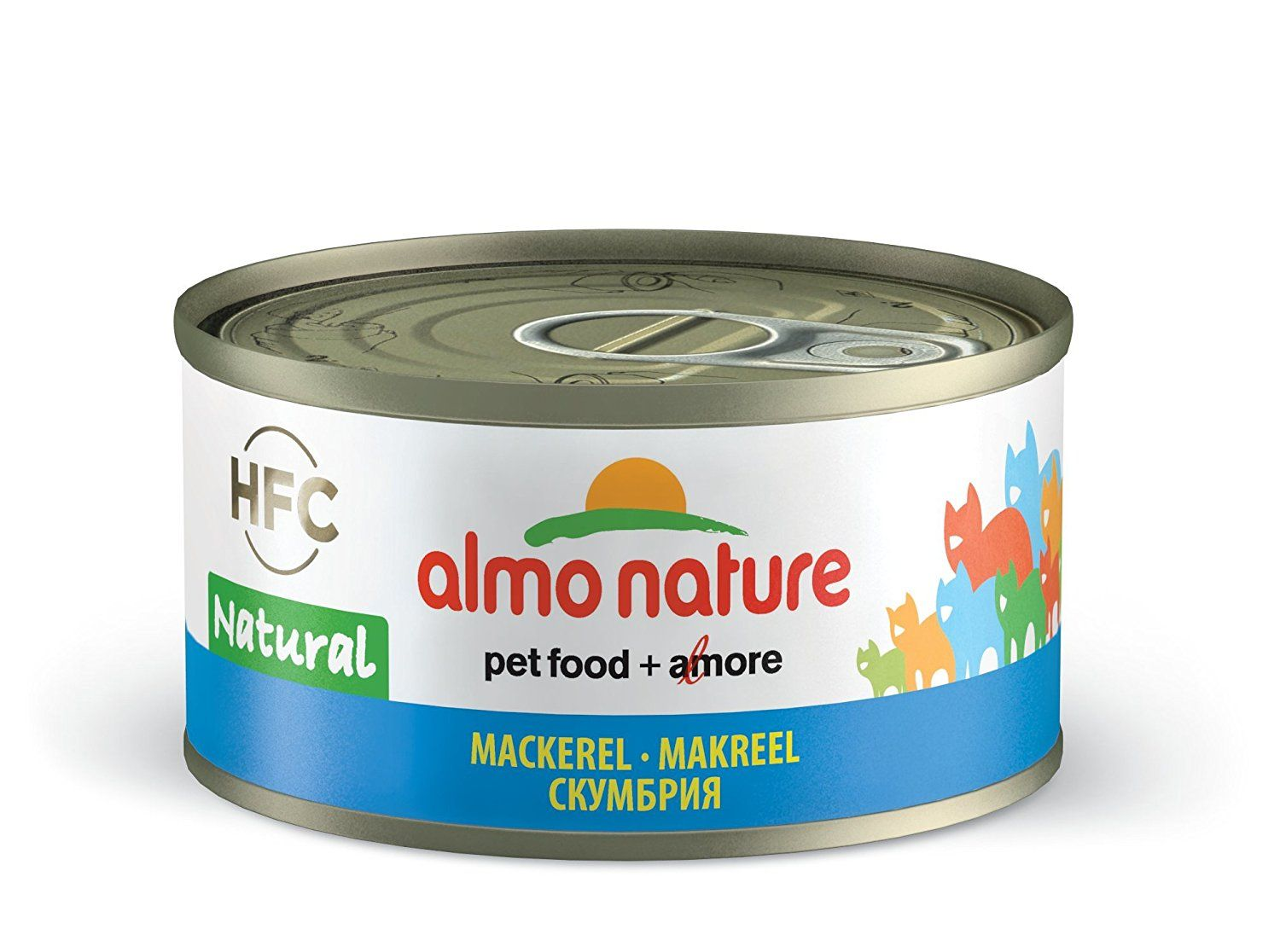 Almo Nature HFC Natural with Mackerel (Pack of 24 x 70g