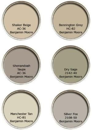 Neutral paint colors go best with Traditional Style decor by nita