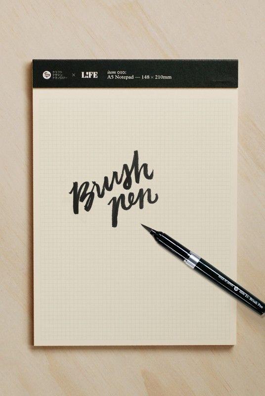 Craft Design Technology Brush Pen Notemaker Lettering Crafts
