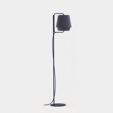 Zero Elements Floor Lamps Blue Floor Lamp Lighting