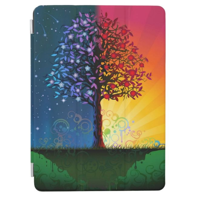 Day And Night Tree iPad Air Cover | Zazzle.com