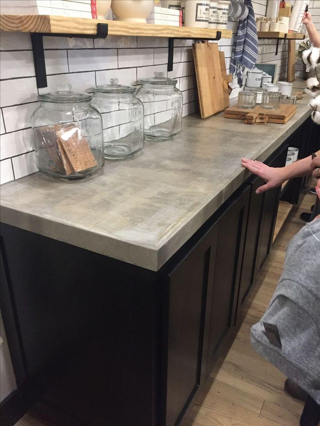 Concrete Countertops Kitchen