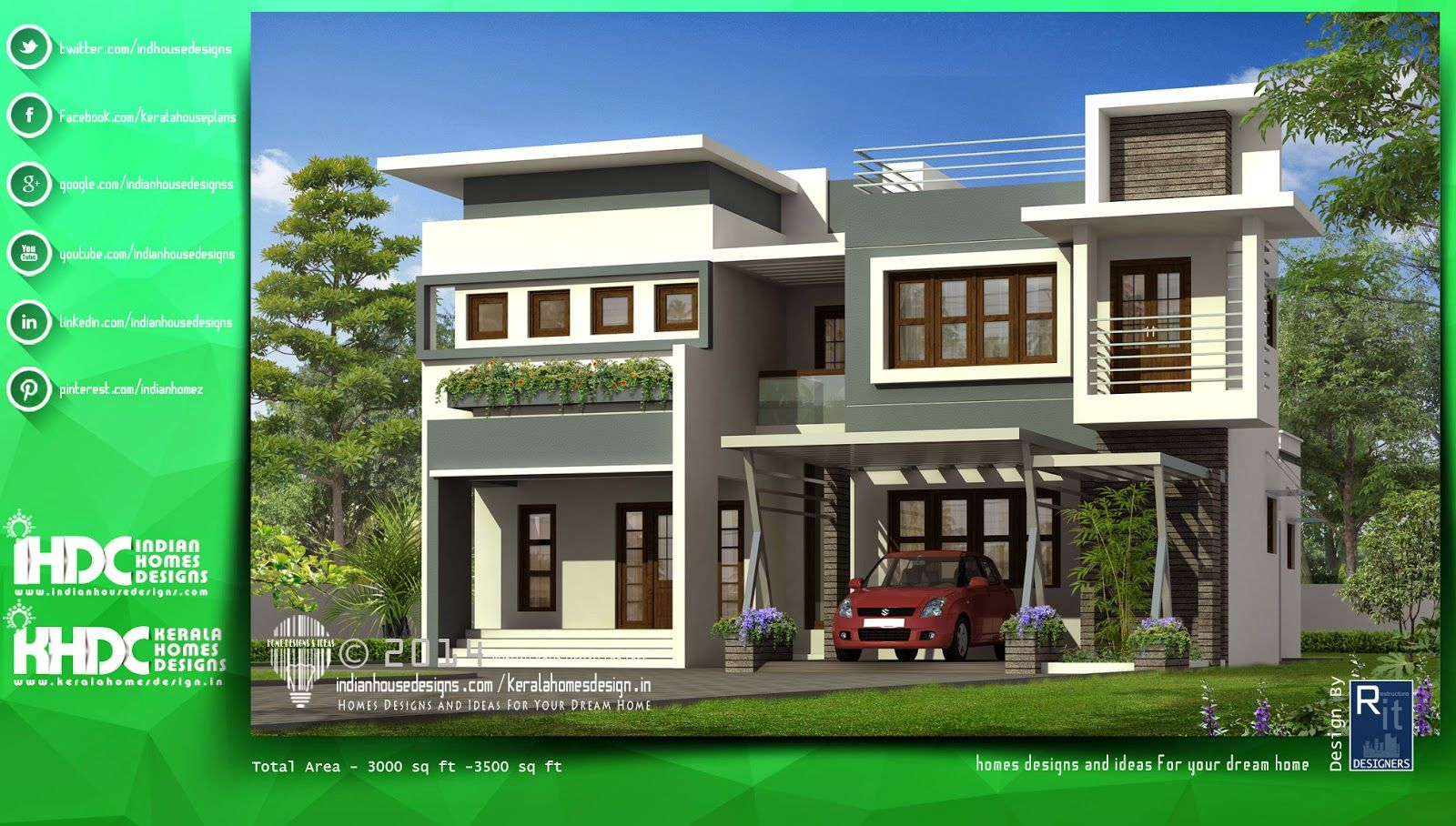 Modern Home Plans Designed By Rit Designers You Can Buildup Your Dream Or A  House Which One Has In Your Mind With The Help Of Rit Designers.