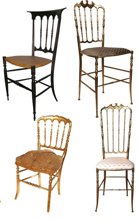 chiavari chairs are actually a type of chair known as a balloon