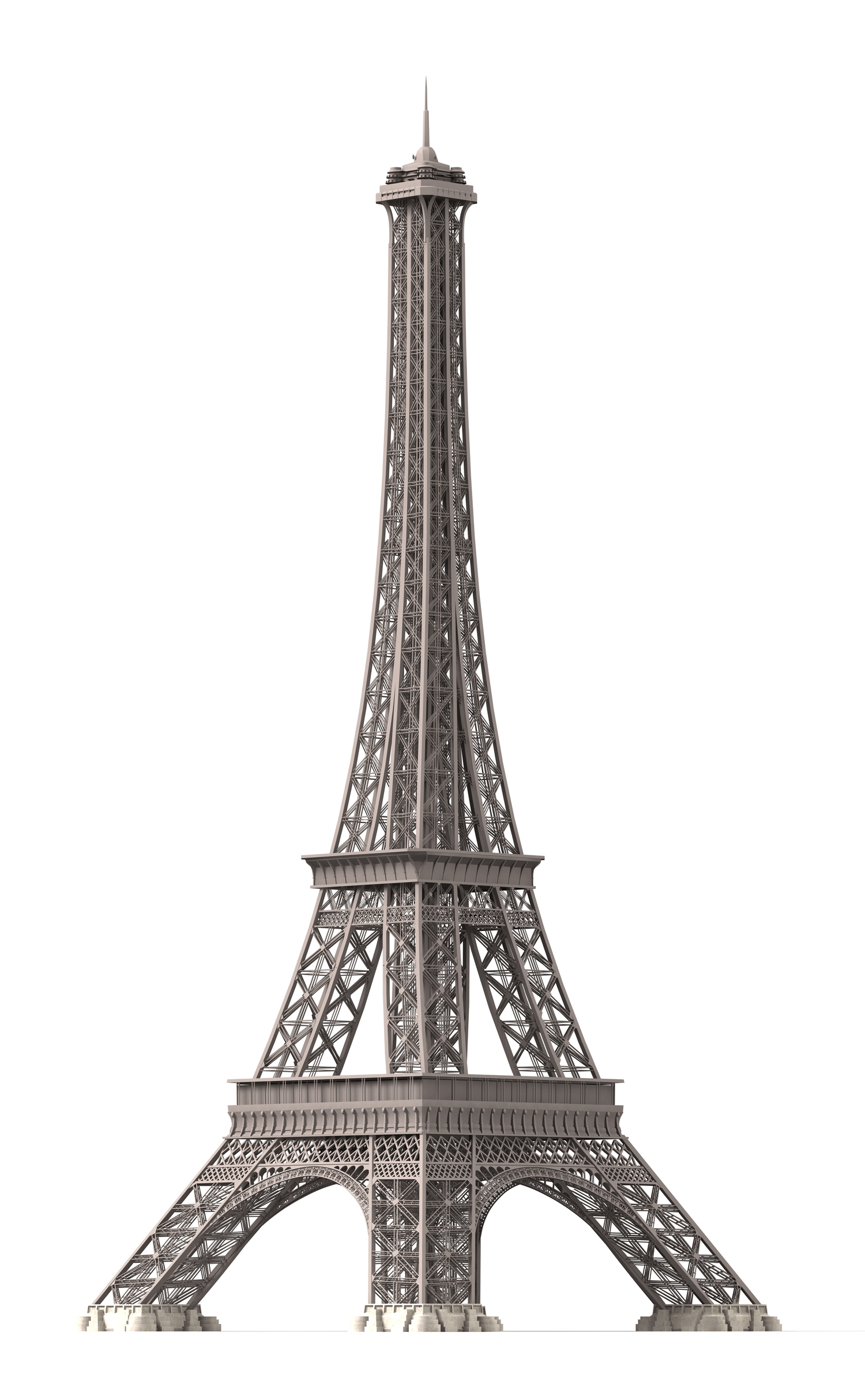 Eiffel Tower As A High Quality 3d Model For Free Download 3d Building Models Eiffel Tower Illustration Eiffel Tower Eiffel Tower Pictures