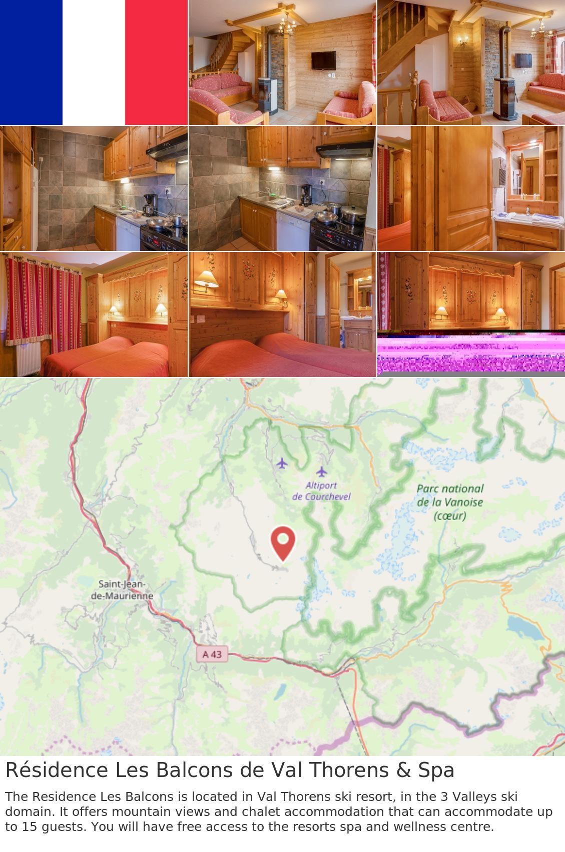 Residence Les Balcons De Val Thorens Spa In 2018 France France