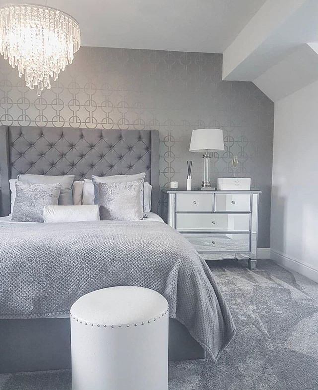 37++ Grey bed frame room ideas inspirations