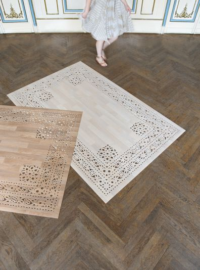 Cut Out Wood Effect Floor Mats Www Arzu Firuz Com Villa