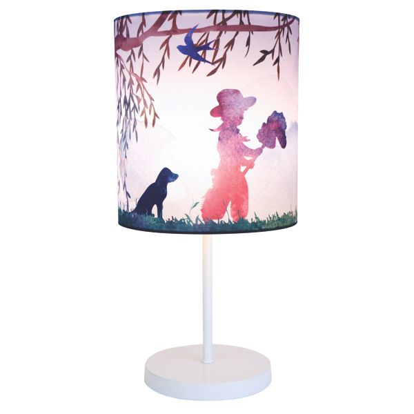 Cowboy print kids table lamp 59 95 bellas little ones australia ergobaby carrier nursery · nursery wall stickerskids