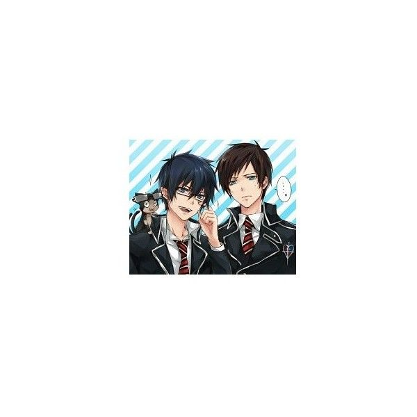 picture dedications ❤ liked on Polyvore featuring anime and ao no exorcist
