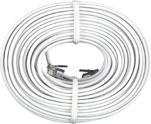 GE TL26530 Line Cord (50 Ft., White, 4-Conductor) by GE