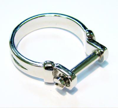Vorschau: Kreativ-Ring Basic waagerecht - Wechselring Größe 18