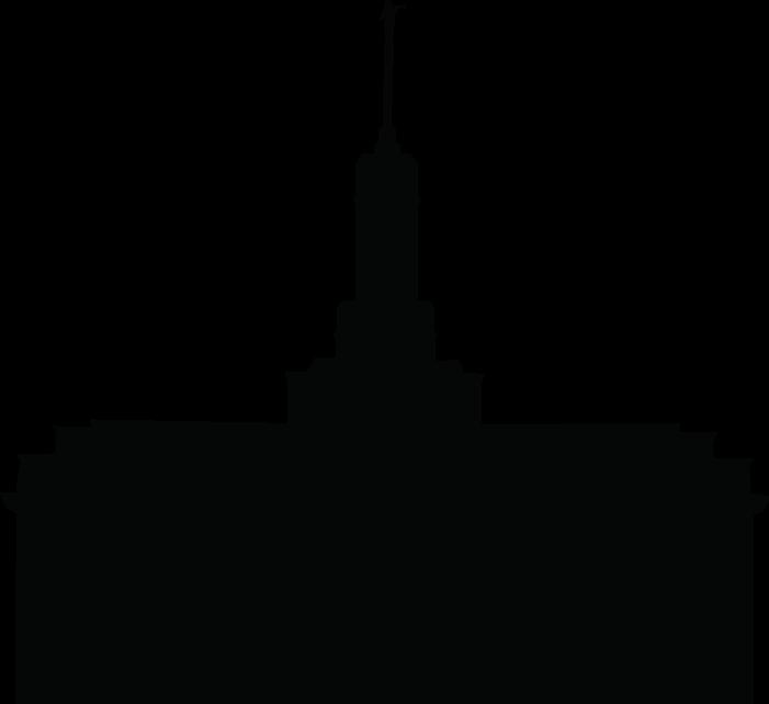 temple silhouette clipart good site for temple silhouettes to use rh pinterest ie clipart temple lds temple clipart