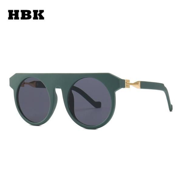162c17f75a4  Fashion  BestPrice HBK Men Fashion Round Sunglasses 2019 Women Special  Circle Glasses K32361