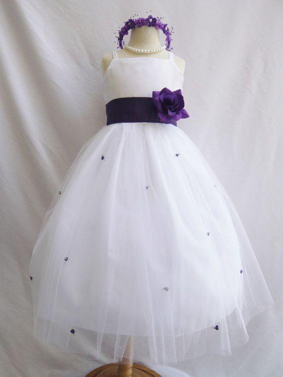 1000  images about eggplant flower girl dresses on Pinterest ...