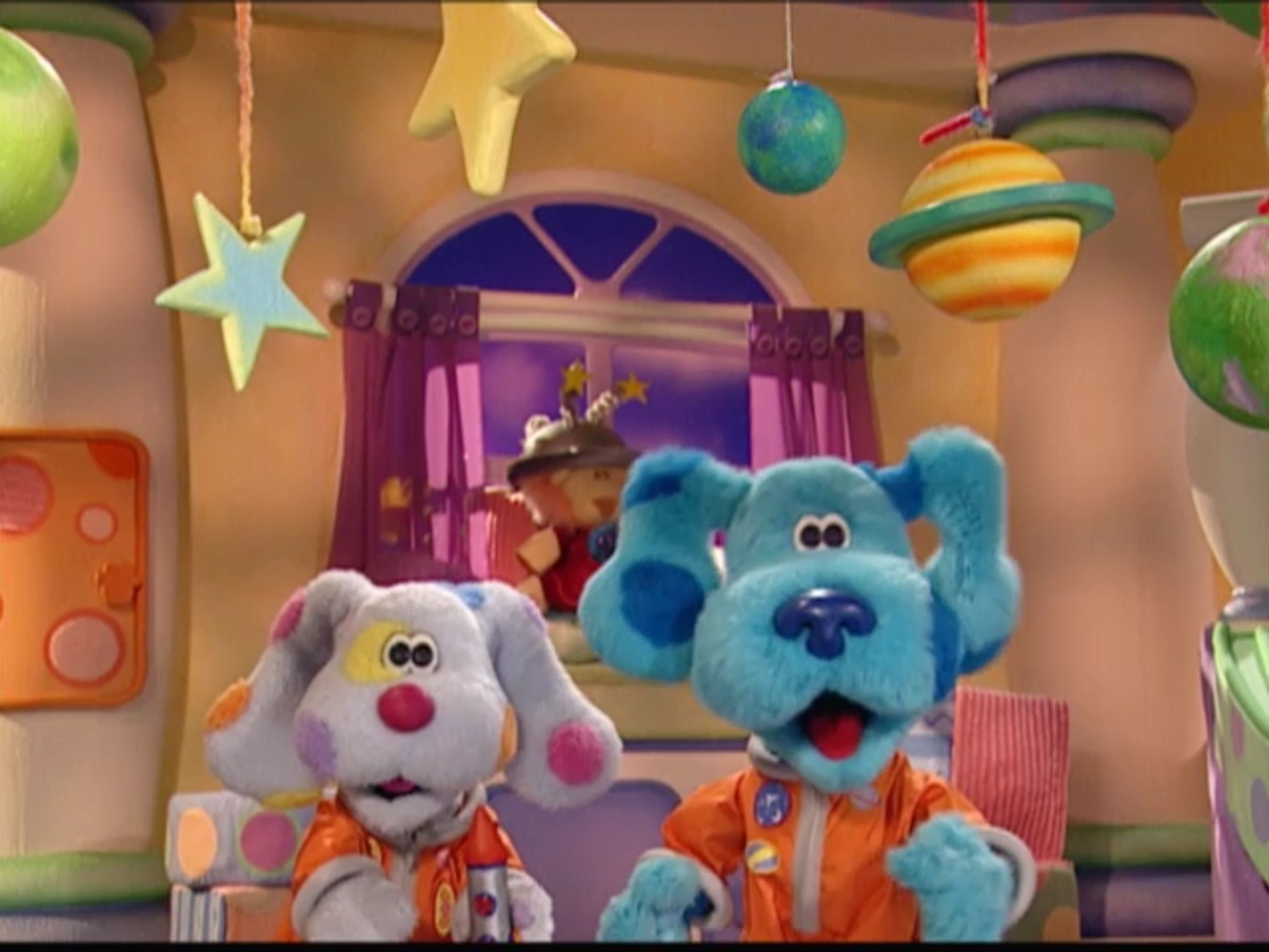 Blue S Room And Sprinkles Are Astronaut For Outer E Play Date