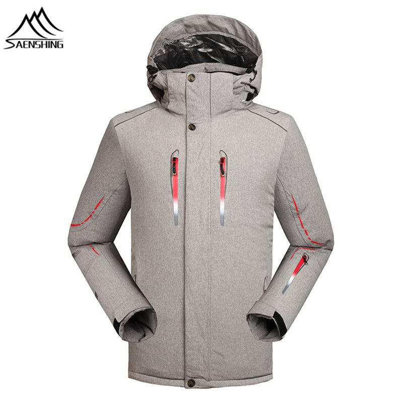 SAENSHING Winter Ski Jacket Men Waterproof 10000 Super Warm Snow Jacket  male Snowboarding coats Mountain skiing bd542daa3